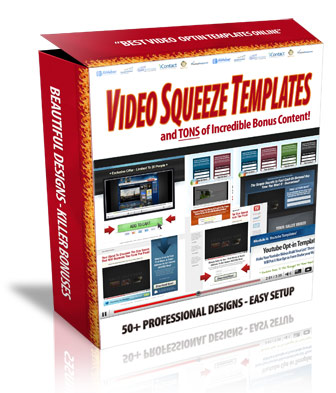 Hot video squeeze templates